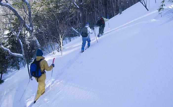 tourmapwin2019 奥日光のスノーシュー、歩くスキーツアー2019冬